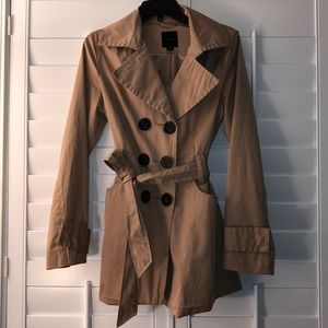 Used beige Express trench coat
